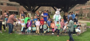 The Easter Bunny VisitsPrinceton